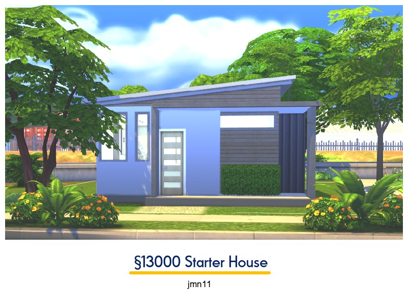 Jmn11 S 13000 Simoleons Starter House