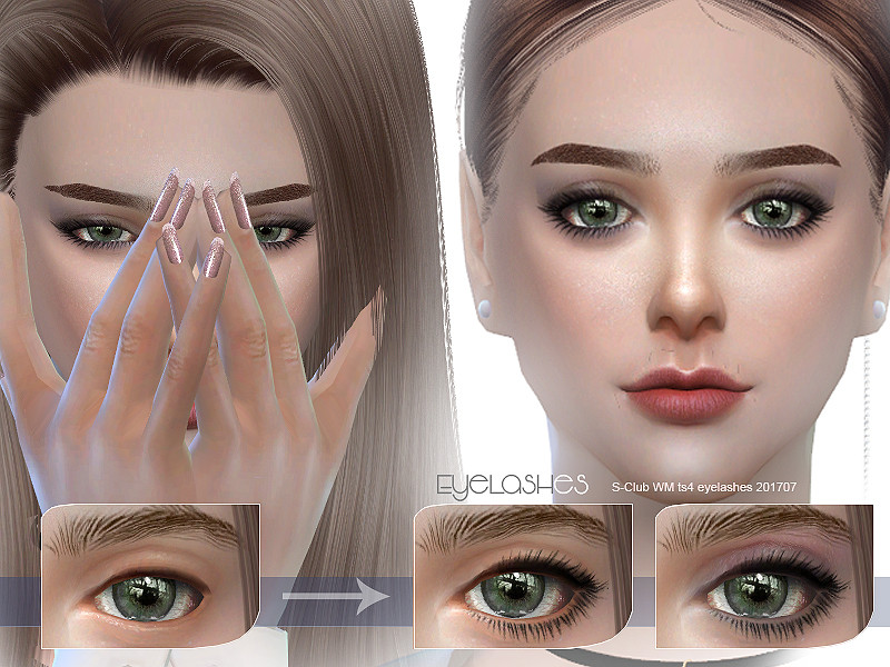 32a865c7475 S-Club WM ts4 eyelashes 201707