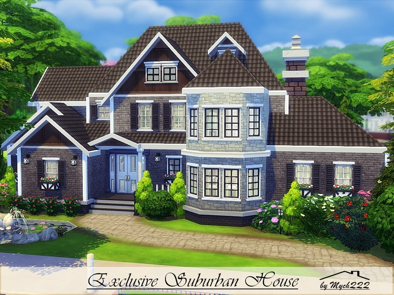 Mychqqq 39 S Exclusive Suburban House