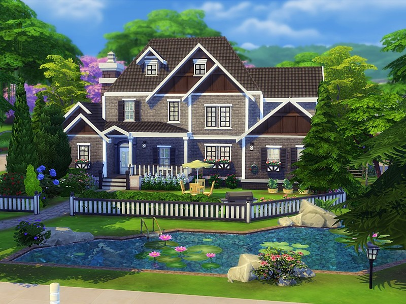 Mychqqq 39 s exclusive suburban house for Willow creek mansion