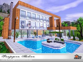 Moderne architektenhäuser mit pool  Sims 3 Lots - 'modern'