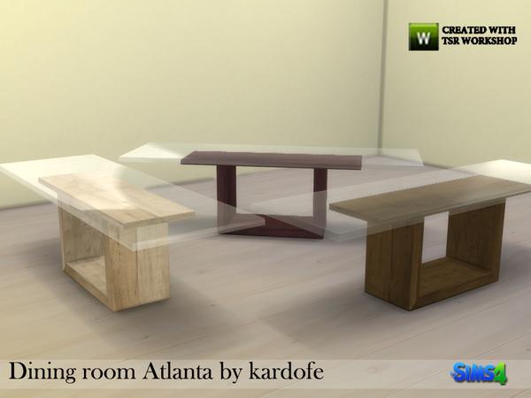 Kardofe Dining Room Atlanta Dinigtable