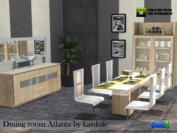 Kardofe dining room atlanta for Dining room furniture atlanta theme