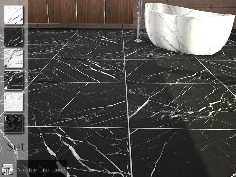 Torque\'s Marble Tile Floor Set