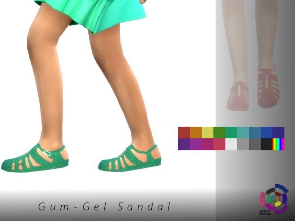 SuperNerdyLove's Gum-Gel Sandal