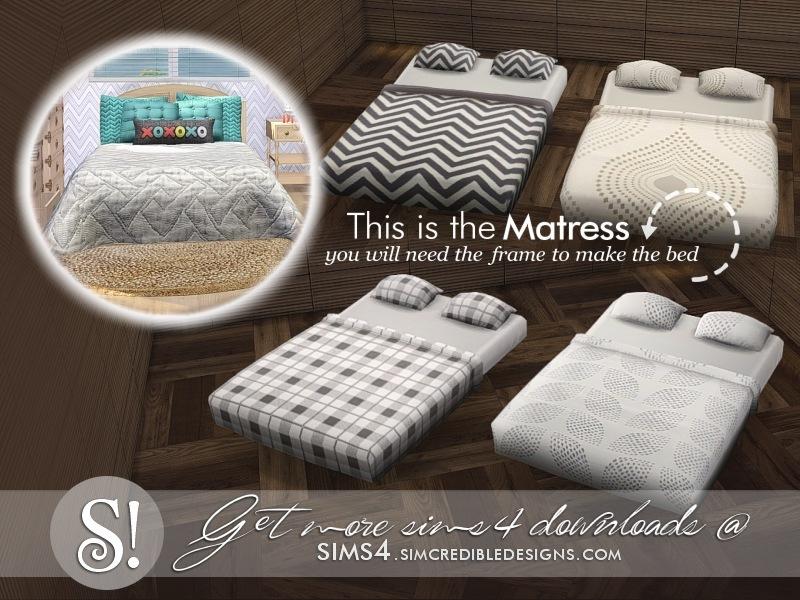 Simcredible S Jules Bed Mattress