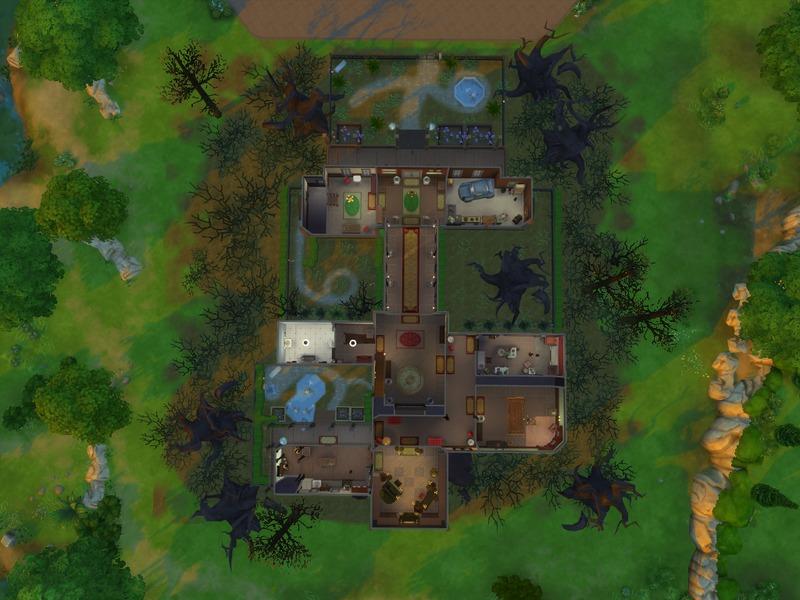 Luigi S Mansion Floor Plans