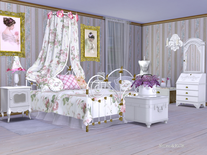 ShinoKCR\'s Shabby Chic Bedroom