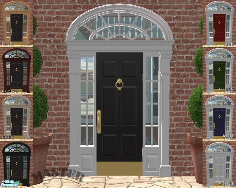 Phoenix Phaerie S Georgian Entry Door