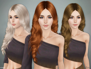 Sims 3 — Lisa Hairstyle B - Sims 3 by Cazy — Hairstyle for Female, Teen through Elder.