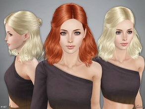 Sims 3 — Haley Hairstyle - Sims 3 by Cazy — Hairstyle for Female, Teen through Elder.