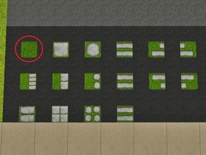 Sims 3 — Grass by Prickly_Hedgehog — Luscious green seamless grass