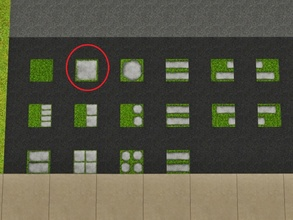 Sims 3 — Grass One Tile by Prickly_Hedgehog — Luscious grass with one large tile