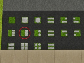 Sims 3 — Grass Two Tiles by Prickly_Hedgehog — Luscious grass with two tiles
