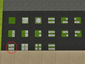 Sims 3 — Grass Two Rectangles by Prickly_Hedgehog — Luscious grass with two rectangular tiles