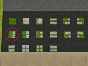 Sims 3 — Grass Four Rectangles by Prickly_Hedgehog — Luscious grass with four rectangular tiles