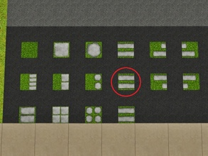 Sims 3 — Grass Long Left by Prickly_Hedgehog — Luscious grass with two long tiles that end on the left