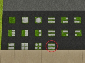 Sims 3 — Grass Long Right by Prickly_Hedgehog — Luscious grass with two long tiles that end on the right