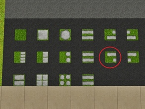 Sims 3 — Grass Imbricated Left by Prickly_Hedgehog — Luscious grass with two overlapping tiles ending on the left