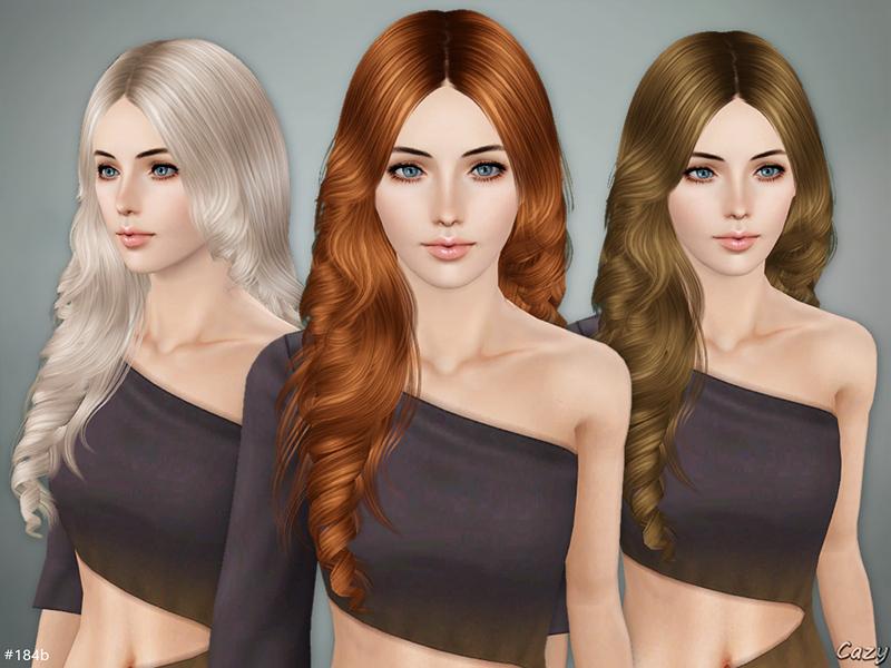 Sims 3 Downloads teen hair