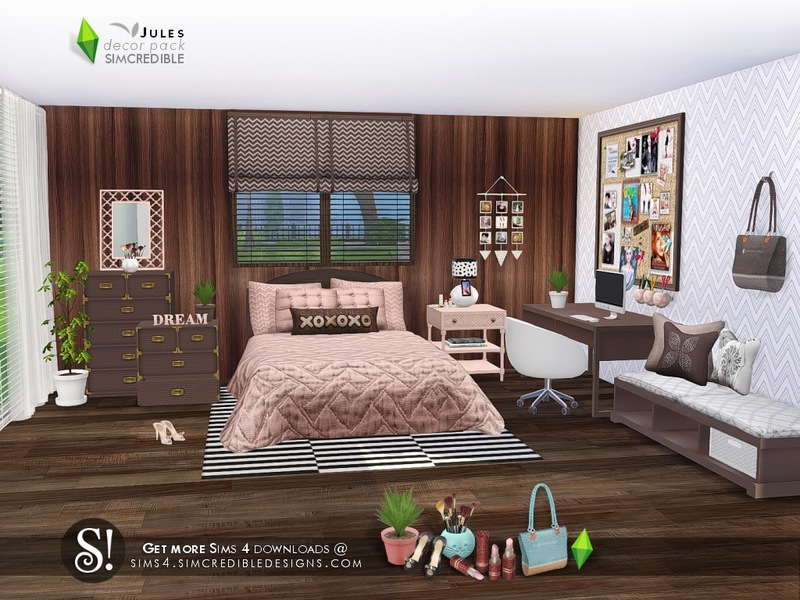 Jules decor pack - The Sims 4 Download - SimsDomination