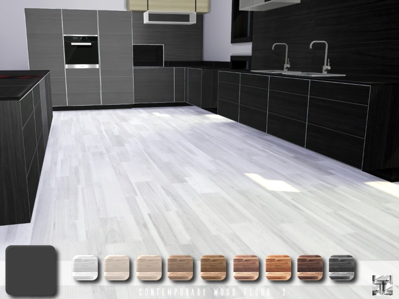 .Torque's Contemporary Wood Floor 2
