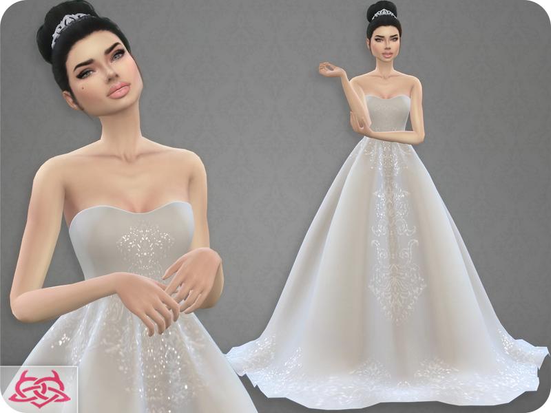 Colores Urbanos Wedding Dress 7 Original Mesh