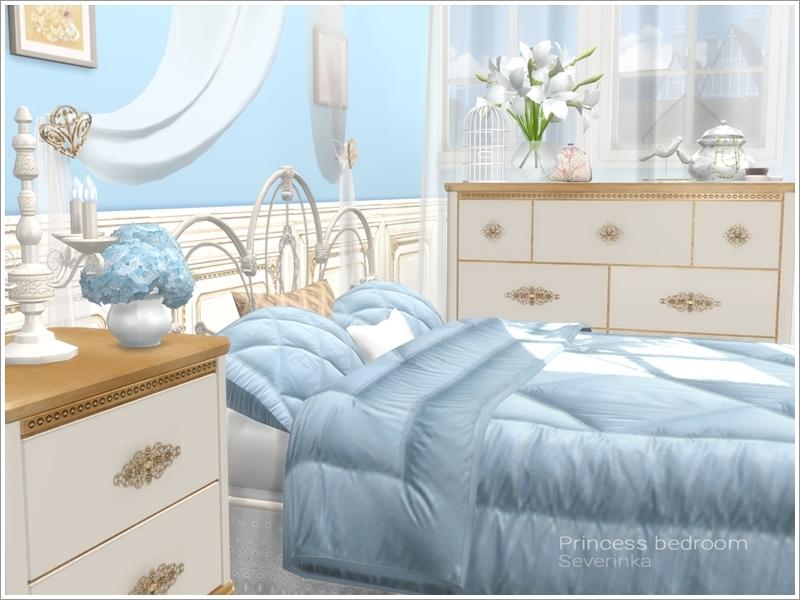 severinka_s princess bedroom - Princess Bed