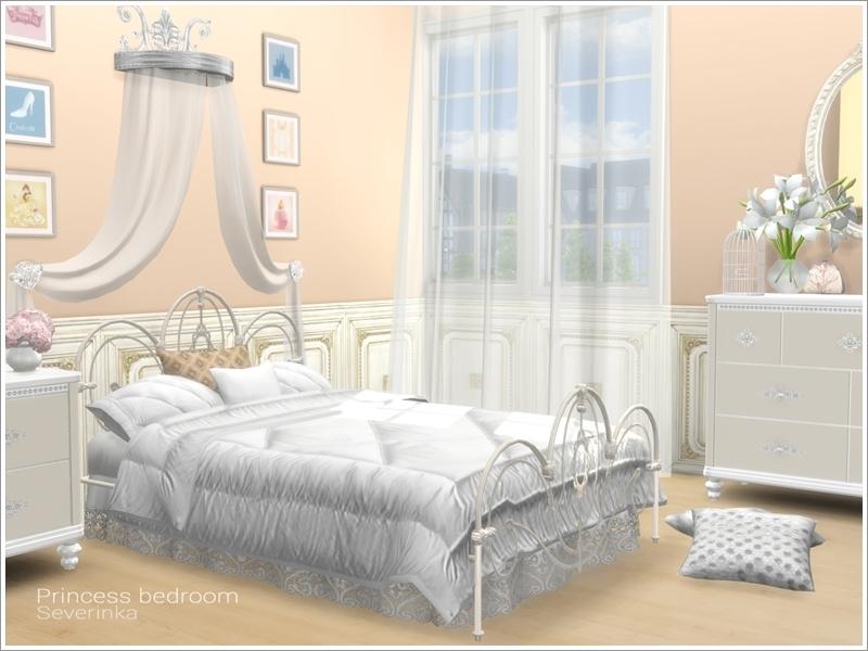 Severinka 39 s princess bedroom for Princes bed