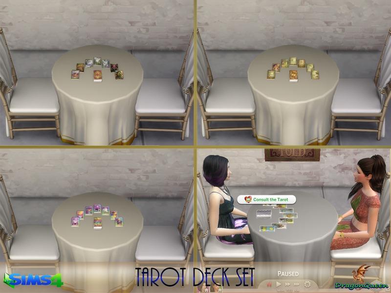 Dragonqueen S Tarot Deck Set