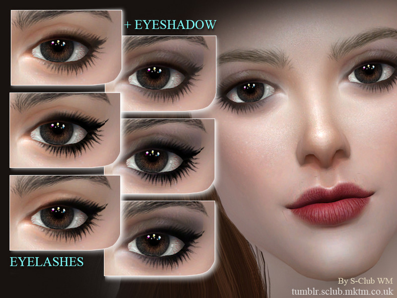 ae2b52b69b6 S-Club WM ts4 eyelashes 201709