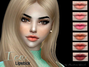 Sims 4 — Ice Lipstick by Baarbiie-GiirL — - this lipstick works with ALL Skins - this set have 19 colors - looks