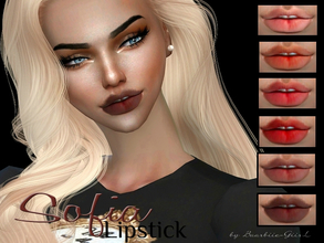 Sims 4 — Sofia Lipstick by Baarbiie-GiirL — - this lipstick works with ALL Skins - this set have 18 colors - looks