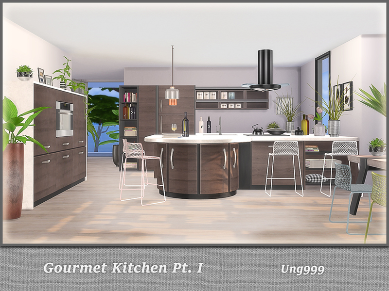 Gourmet Kitchen ...