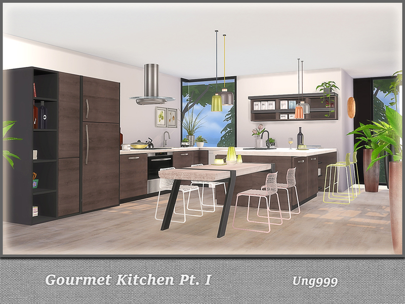 Gourmet Kitchen ...
