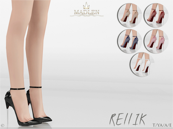 The Sims 4 Madlen Rellik Shoes