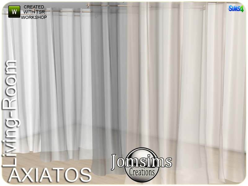 Jomsims Axiatos Curtains Deco