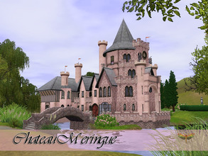 Sims 3 — Chateau Meringue by fredbrenny — If you feel like a princess, why not live as one? Chateau Meringue is a pretty,