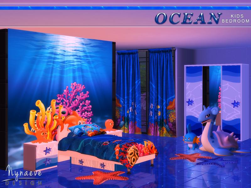 Nynaevedesign S Ocean Kids Bedroom