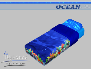 Sims 3 — Ocean Kids Bedding by NynaeveDesign — Ocean Kids Bedroom - Bedding Mix and Match it with the Ocean Kids Bed