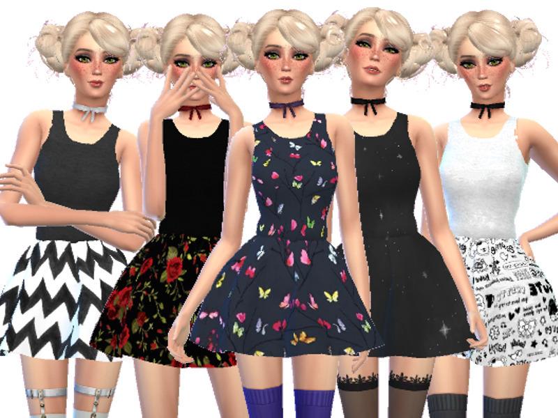 Wicked_Kittie's Pastel Gothic Mini Dresses