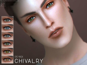 Sims 4 — [ Chivalry ] - Eye Mask by Screaming_Mustard — A new simple eye mask. For males and females, toddler +. With