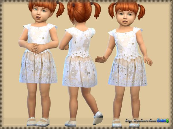 By Bukovka Toddler Female Dress Fashionable Flower
