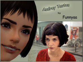 Sims 3 — Audrey Tautou by Funnyaa by Funnyaa — Audrey Tautou by Funnyaa Audrey Tautou is a french actress, who is well