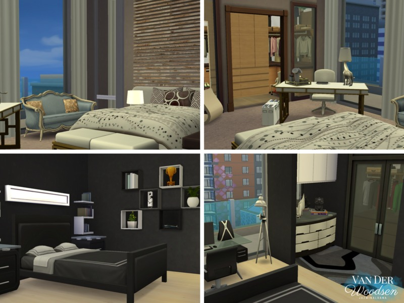 jazminaldana's Van Der Woodsen Penthouse on glamour bedroom, red bedroom, style bedroom, olivia palermo bedroom, celebrity bedroom, love bedroom, sayings for your bedroom,