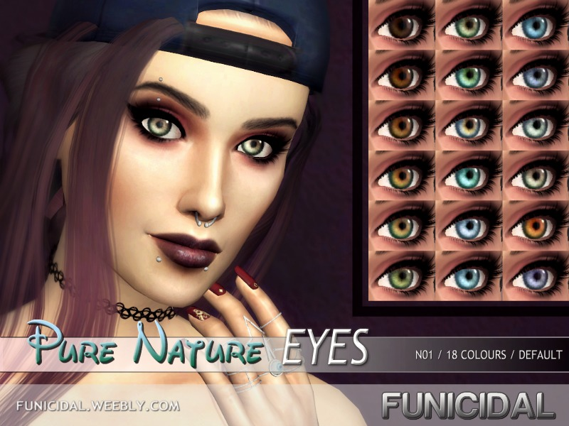 Funicidal's Pure Nature Eyes (Default Replacement)