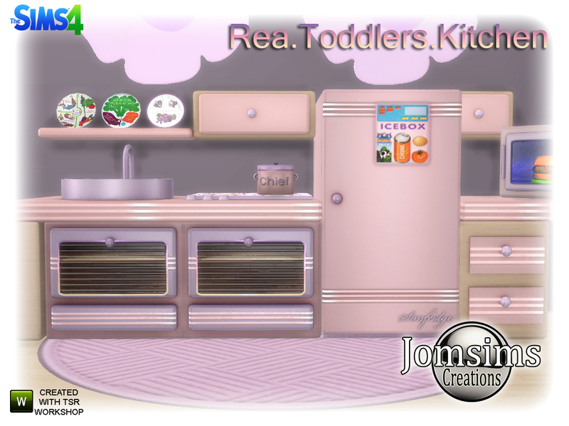 jomsims\' Rea Toddlers Kitchen