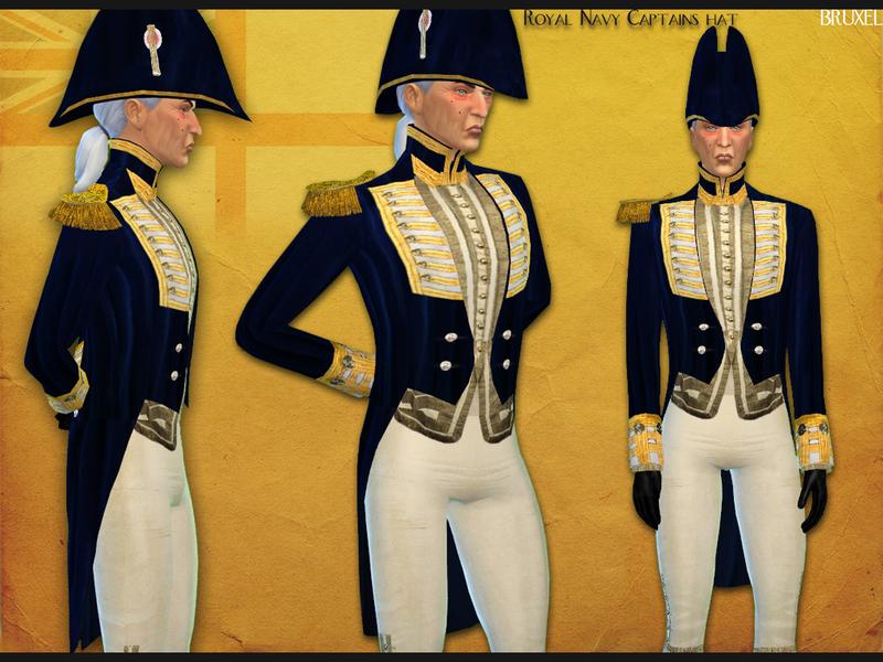 Bruxel - Royal Navy Captains Hat