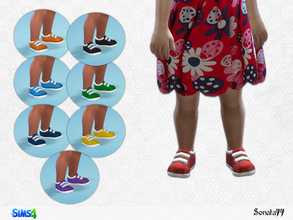 Sims 4 — S77 toddler 15 by Sonata77 — Shoes for girls toddler. 8 colors.