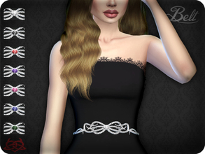 Sims 4 — Belt 6 (original mesh) by Colores_Urbanos — 7 colors - Find the belt in gloves New mesh made by me - Your game